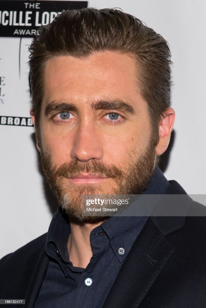 Actor <a gi-track='captionPersonalityLinkClicked' href=/galleries/search?phrase=Jake+Gyllenhaal&family=editorial&specificpeople=201833 ng-click='$event.stopPropagation()'>Jake Gyllenhaal</a> attends the 2013 Lucille Lortel Awards at Jack H. Skirball Center for the Performing Arts on May 5, 2013 in New York City.