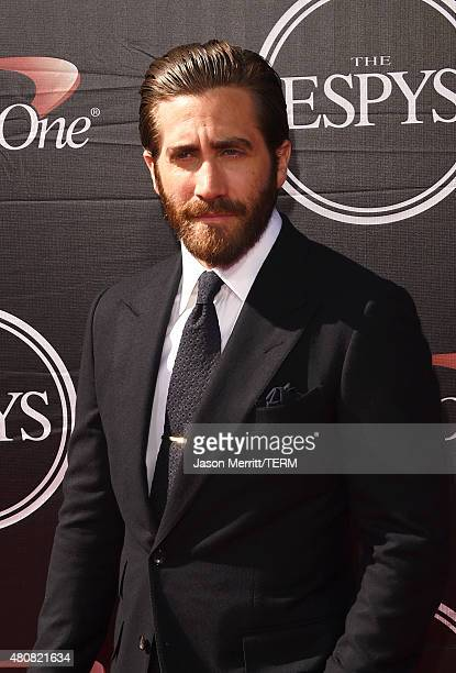 Actor Jake Gyllenhaal attends The 2015 ESPYS at Microsoft Theater on July 15 2015 in Los Angeles California