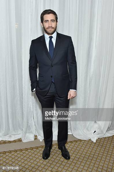 Actor Jake Gyllenhaal attends the 2016 New York City Center Gala at New York City Center on October 24 2016 in New York City