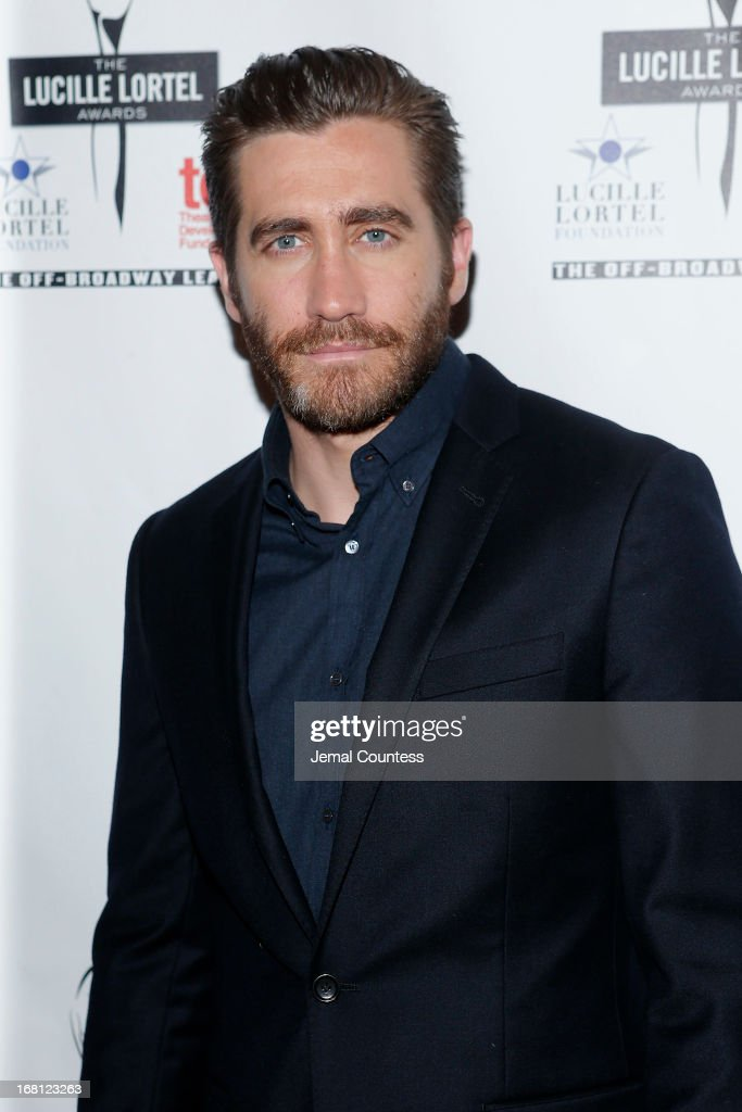 Actor Jake Gyllenhaal attends the 28th Annual Lucille Lortel Awards on May 5, 2013 in New York City.
