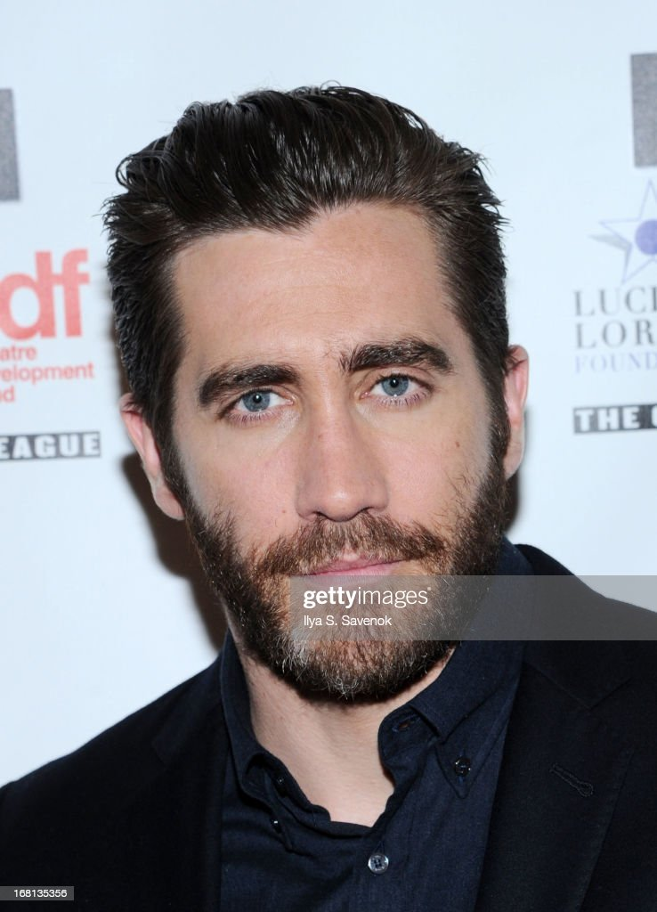Actor <a gi-track='captionPersonalityLinkClicked' href=/galleries/search?phrase=Jake+Gyllenhaal&family=editorial&specificpeople=201833 ng-click='$event.stopPropagation()'>Jake Gyllenhaal</a> attends the 28th Annual Lucille Lortel Awards at NYU Skirball Center on May 5, 2013 in New York City.