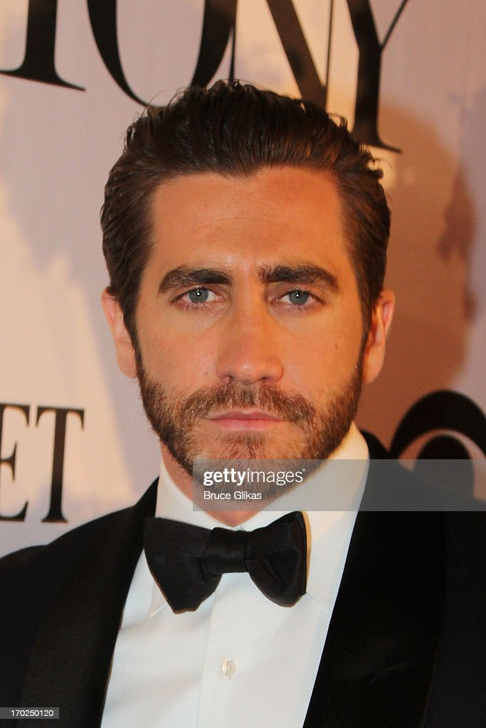 Actor Jake Gyllenhaal attends the 67th Annual Tony Awards at Radio City Music Hall on June 9, 2013 in New York City.