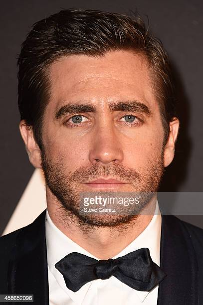 Actor Jake Gyllenhaal attends the Academy Of Motion Picture Arts And Sciences' 2014 Governors Awards at The Ray Dolby Ballroom at Hollywood Highland...