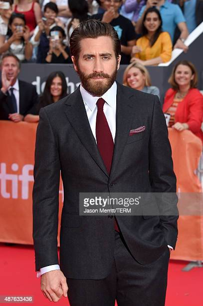 Actor Jake Gyllenhaal attends the 'Demolition' premiere and opening night gala during the 2015 Toronto International Film Festival at Roy Thomson...