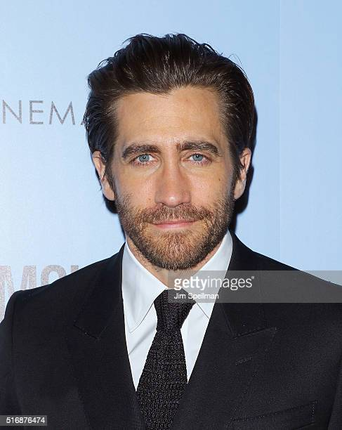 Actor Jake Gyllenhaal attends the Fox Searchlight Pictures with The Cinema Society host a screening of 'Demolition' at the SVA Theater on March 21...