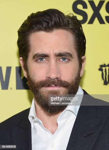 Actor Jake Gyllenhaal attends the 'Life' premiere during 2017 SXSW Conference and Festivals at the ZACH Theatre on March 18 2017 in Austin Texas