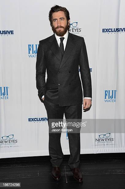 Actor Jake Gyllenhaal attends the New Eyes for the Needy 80th Anniversary Gala honoring Jake Gyllenhaal at Colicchio Sons on November 19 2012 in New...