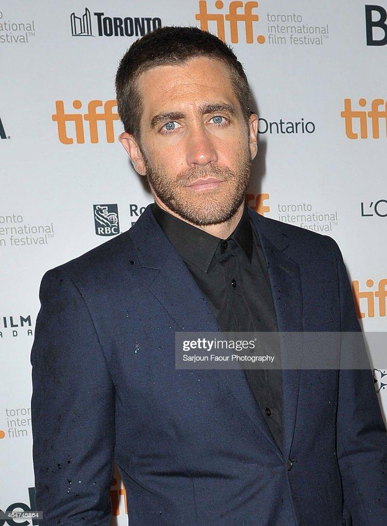 """Nightcrawler"" Premiere - 2014 Toronto International Film ... Actor Jake Gyllenhaal Attends The Photos"