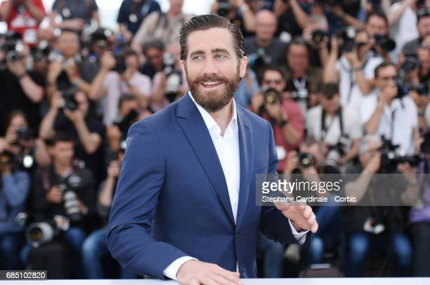 Actor Jake Gyllenhaal attends the 'Okja' photocall during the 70th annual Cannes Film Festival at Palais des Festivals on May 19 2017 in Cannes France