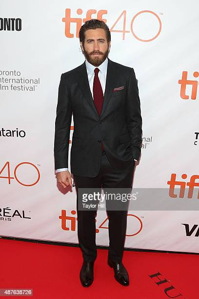 Actor Jake Gyllenhaal attends the opening night premiere of 'Demolition' on day one of the 2015 Toronto International Film Festival on September 10...