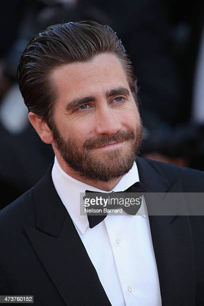 Actor Jake Gyllenhaal attends the Premiere of 'Carol' during the 68th annual Cannes Film Festival on May 17 2015 in Cannes France
