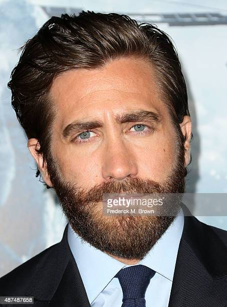 Actor Jake Gyllenhaal attends the Premiere of Universal Pictures' 'Everest' at the TCL Chinese 6 Theatre on September 9 2015 in Hollywood California