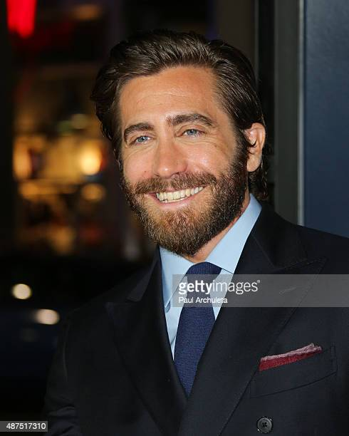 Actor Jake Gyllenhaal attends the premiere of Universal Pictures' 'Everest' at The TCL Chinese 6 Theatres on September 9 2015 in Hollywood California