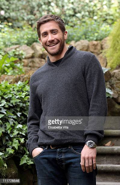 Actor Jake Gyllenhaal attends the 'Source Code' photocall at De Russie Hotel on April 6 2011 in Rome Italy