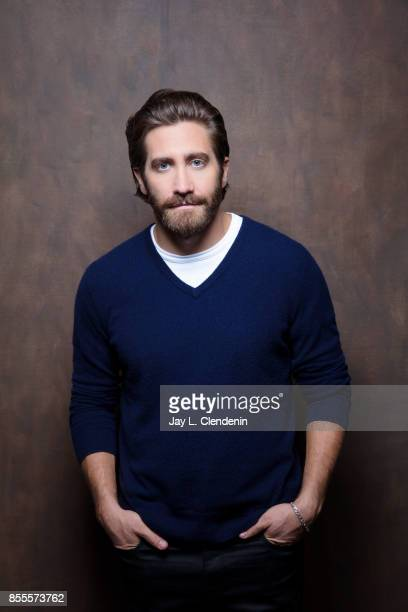 Actor Jake Gyllenhaal from the film 'Stronger' poses for a portrait at the 2017 Toronto International Film Festival for Los Angeles Times on...