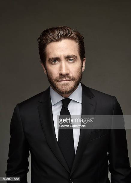 Actor Jake Gyllenhaal is photographed at the 12th annual Dubai International Film Festival held at the Madinat Jumeriah Complex on December 16 2015...