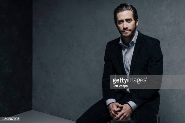 Actor Jake Gyllenhaal is photographed at the Toronto Film Festival on September 7 2013 in Toronto Ontario