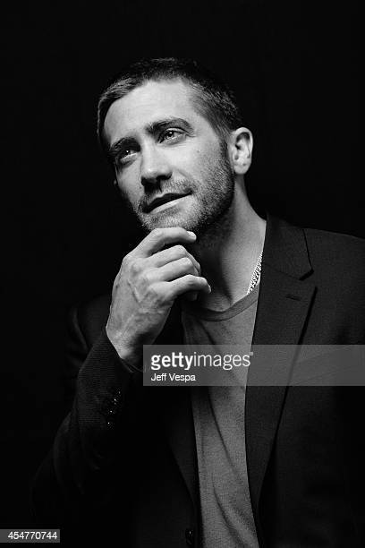 Actor Jake Gyllenhaal is photographed for a Portrait Session at the 2014 Toronto Film Festival on September 5 2014 in Toronto Ontario