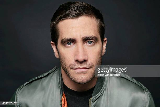 Actor Jake Gyllenhaal is photographed for Los Angeles Times on September 21 2014 in Santa Monica California PUBLISHED IMAGE CREDIT MUST READ Brian...