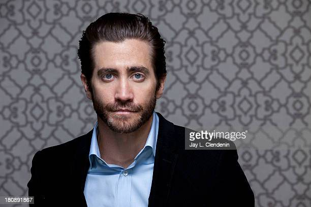 Actor Jake Gyllenhaal is photographed for Los Angeles Times on September 7 2013 in Toronto Ontario PUBLISHED IMAGE CREDIT MUST READ Jay L...