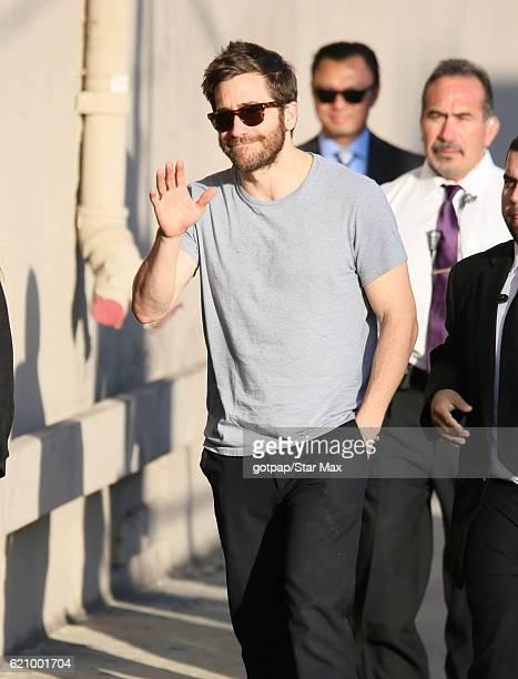 Actor Jake Gyllenhaal is seen on November 1 2016 in Los Angeles California