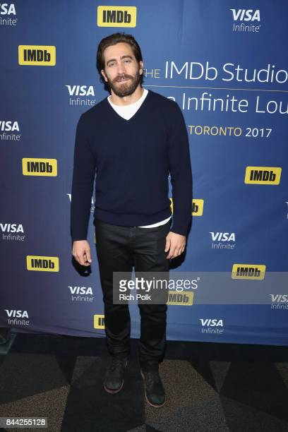 Actor Jake Gyllenhaal of 'Stronger' attends The IMDb Studio Hosted By The Visa Infinite Lounge at The 2017 Toronto International Film Festival at...