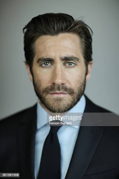 Actor Jake Gyllenhaal poses during a portrait session on day eight of the 12th annual Dubai International Film Festival held at the Madinat Jumeriah...