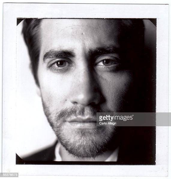 Actor Jake Gyllenhaal poses for a Polaroid portrait while promoting his film 'Brokeback Mountain' at the Toronto International Film Festival...