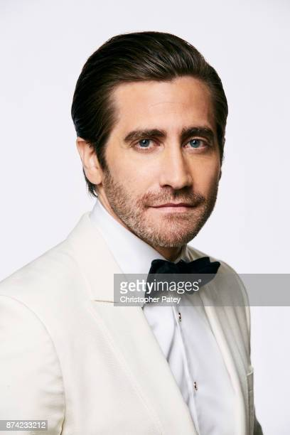 Actor Jake Gyllenhaal poses for a portrait at the 31st Annual American Cinematheque Awards Gala at The Beverly Hilton Hotel on November 10 2017 in...