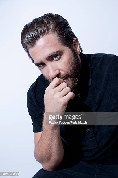 Actor Jake Gyllenhaal poses for Paris Match on June 15 2015 in Paris France