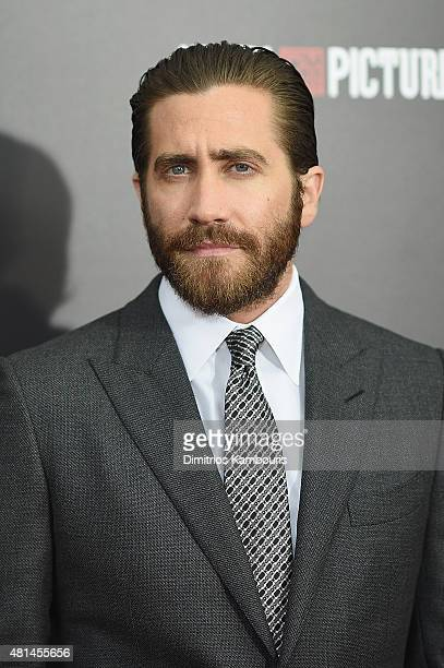 Actor Jake Gyllenhall attends the 'Southpaw' New York Premiere at AMC Loews Lincoln Square on July 20 2015 in New York City