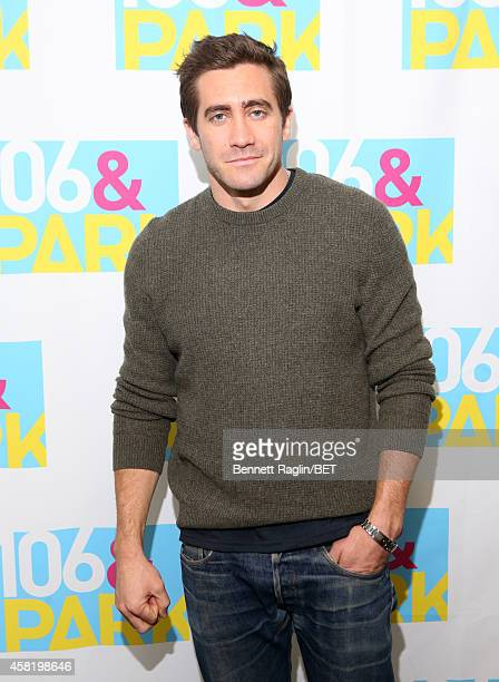 Actor Jake Jake Gyllenhaal attends 106 Park at BET studio on October 29 2014 in New York City
