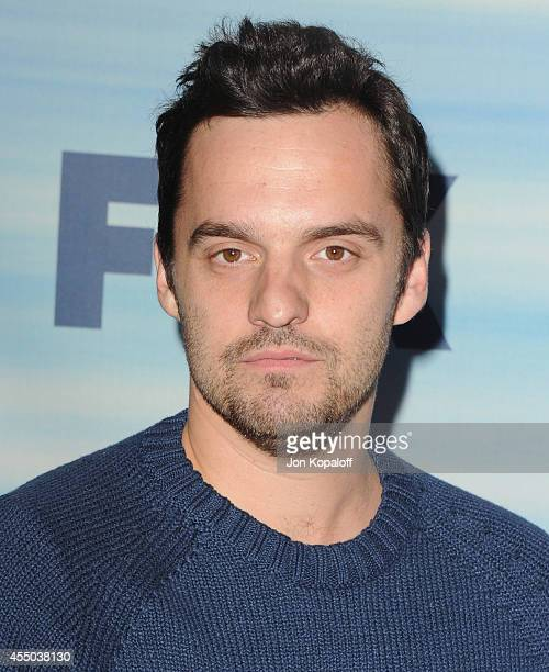 Actor Jake Johnson arrives at the 2014 FOX Fall EcoCasino Party at The Bungalow on September 8 2014 in Santa Monica California