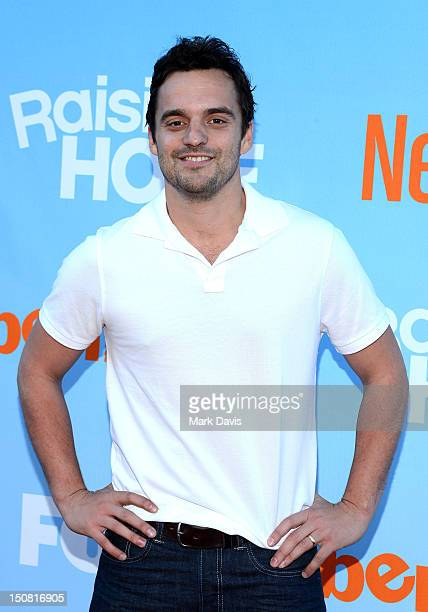 Actor Jake Johnson arrives at the New FOX Tuesday screening and live QA held at The Broad Stage on August 26 2012 in Santa Monica California
