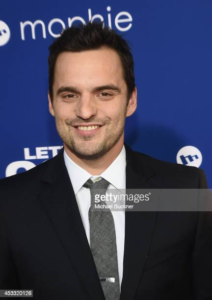 Actor Jake Johnson arrives at the premiere of Twentieth Century Fox's 'Let's Be Cops' at ArcLight Hollywood on August 7 2014 in Hollywood California