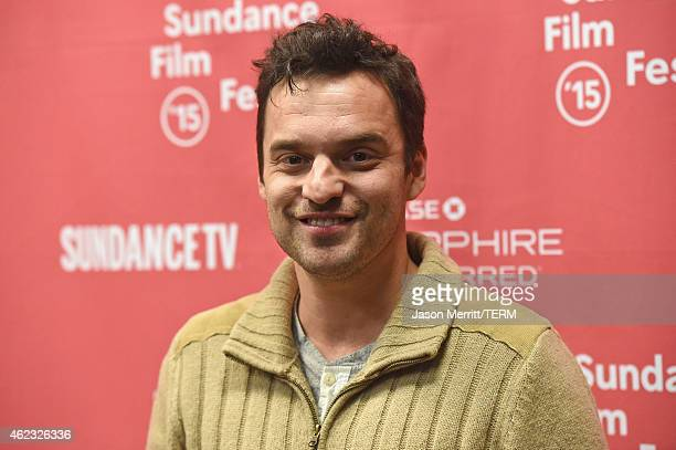 Actor Jake Johnson attends 'Digging For Fire' premiere during the 2015 Sundance Film Festival on January 26 2015 in Park City Utah