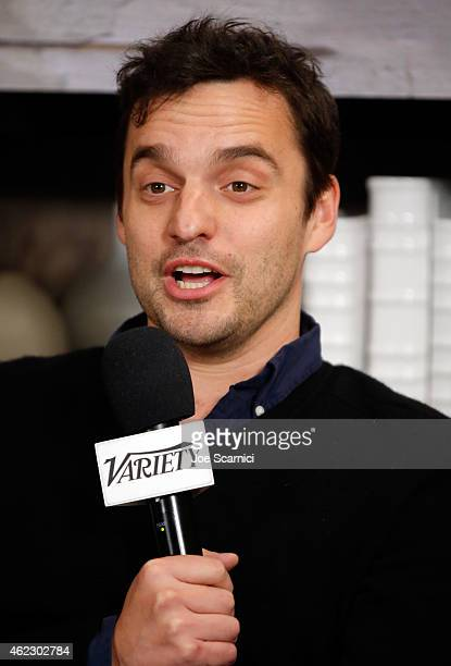 Actor Jake Johnson attends The Variety Studio At Sundance Presented By Dockers Day 3 on January 26 2015 in Park City Utah