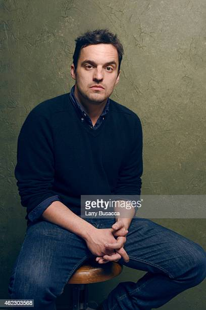 Actor Jake Johnson of 'Digging for Fire' poses for a portrait at the Village at the Lift Presented by McDonald's McCafe during the 2015 Sundance Film...