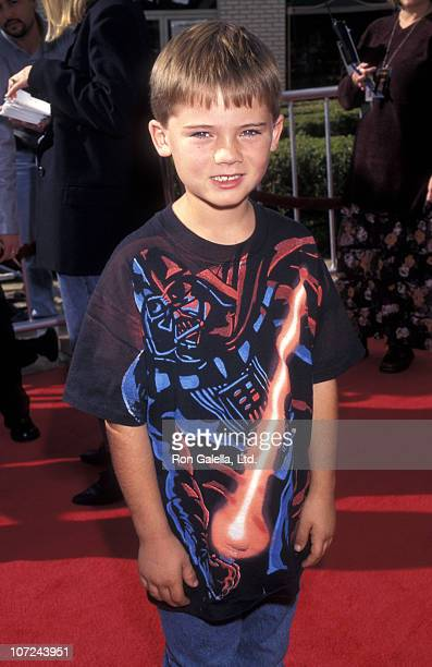 Actor Jake Lloyd attends the 'Anastacia' Westwood Premiere on November 15 1997 at Mann Village Theatre in Westwood California
