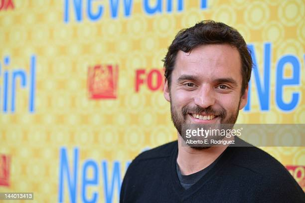 Actor Jake M Johnson arrives to The Academy of Television Arts Sciences' screening of Fox's 'New Girl' at Leonard H Goldenson Theatre on May 7 2012...