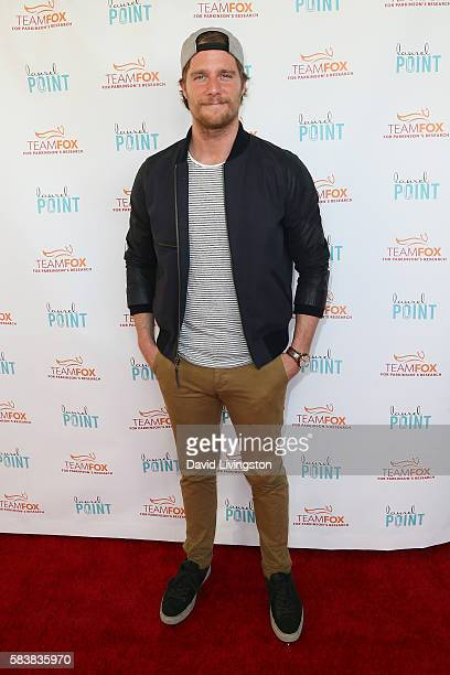 Actor Jake McDorman arrives at Raising The Bar To End Parkinson's at Laurel Point on July 27 2016 in Studio City California