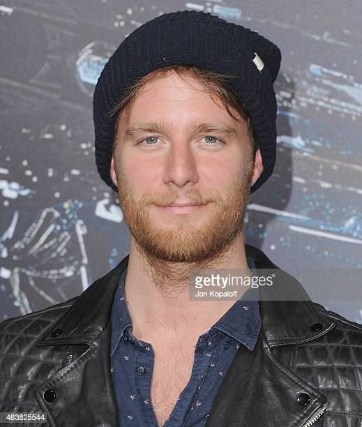 Actor Jake McDorman arrives at the Los Angeles Premiere 'Jupiter Ascending' at TCL Chinese Theatre on February 2 2015 in Hollywood California