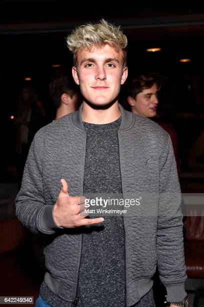 Actor Jake Paul attends E's The Arrangement Event on February 15 2017 in Los Angeles California
