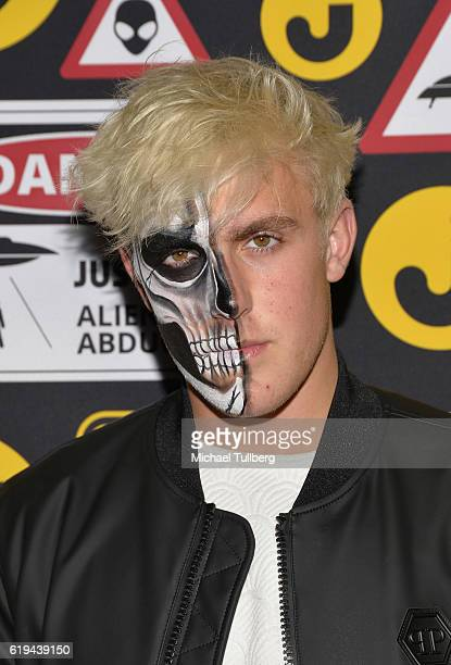 Actor Jake Paul attends Just Jared's Annual Halloween Party at Tenants of the Trees on October 30 2016 in Los Angeles California