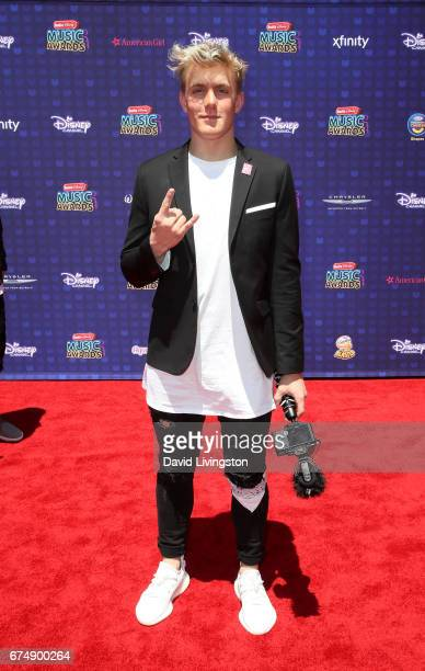Actor Jake Paul attends the 2017 Radio Disney Music Awards at Microsoft Theater on April 29 2017 in Los Angeles California