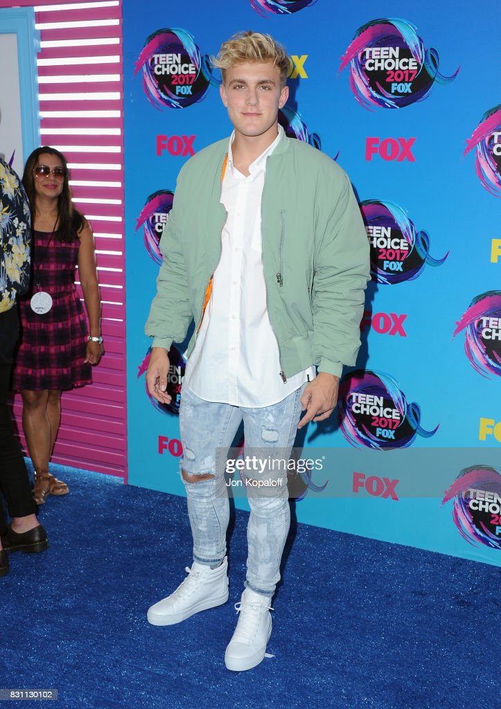 Actor Jake Paul attends the Teen Choice Awards 2017 at Galen Center on August 13, 2017 in Los Angeles, California.