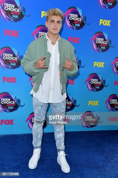 Actor Jake Paul attends the Teen Choice Awards 2017 at Galen Center on August 13 2017 in Los Angeles California