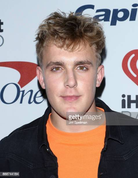Actor Jake Paul attends the Z100's iHeartRadio Jingle Ball 2017 at Madison Square Garden on December 8 2017 in New York City