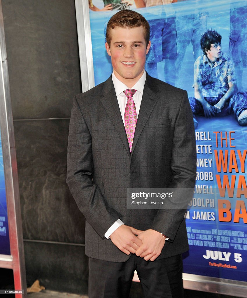 Actor Jake Picking attends 'The Way, Way Back ' New York Premiere at AMC Loews Lincoln Square on June 26, 2013 in New York City.