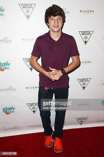 Actor Jake Short attends Blake Michael's 18th Birthday at Riviera 31 on August 9 2014 in Beverly Hills California